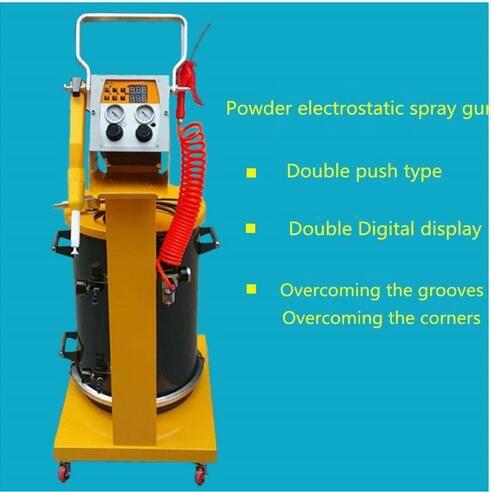 Electrostatic Spray Powder Coating System Machine Spraying Gun Paint System  fast shipping