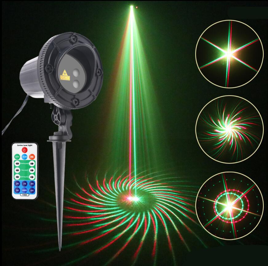 christmas ip65 outdoor laser lights projector 8 patterns rg waterproof snowflake xmas tree garden decoration show lighting stage lighting for sale stage