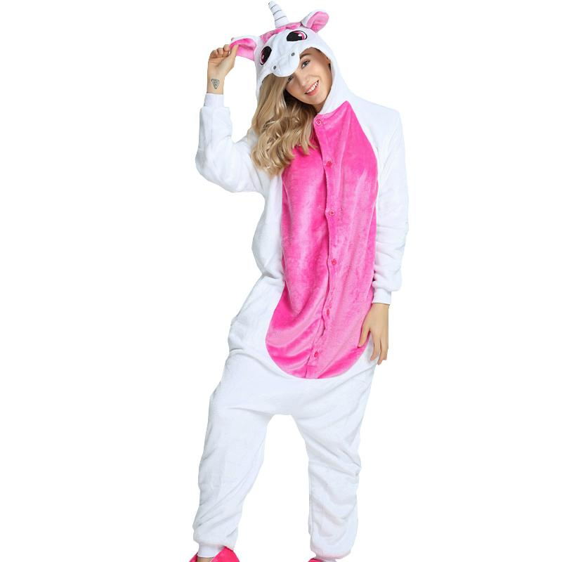 2019 PSEEWE Unicorn Womens Soft Comfortable Pajamas Set Cute Cartoon Animal  Stich Unicorn Unisex Homewear For Girl Women Sleepwear From Isaaco 1ebdb3c9a