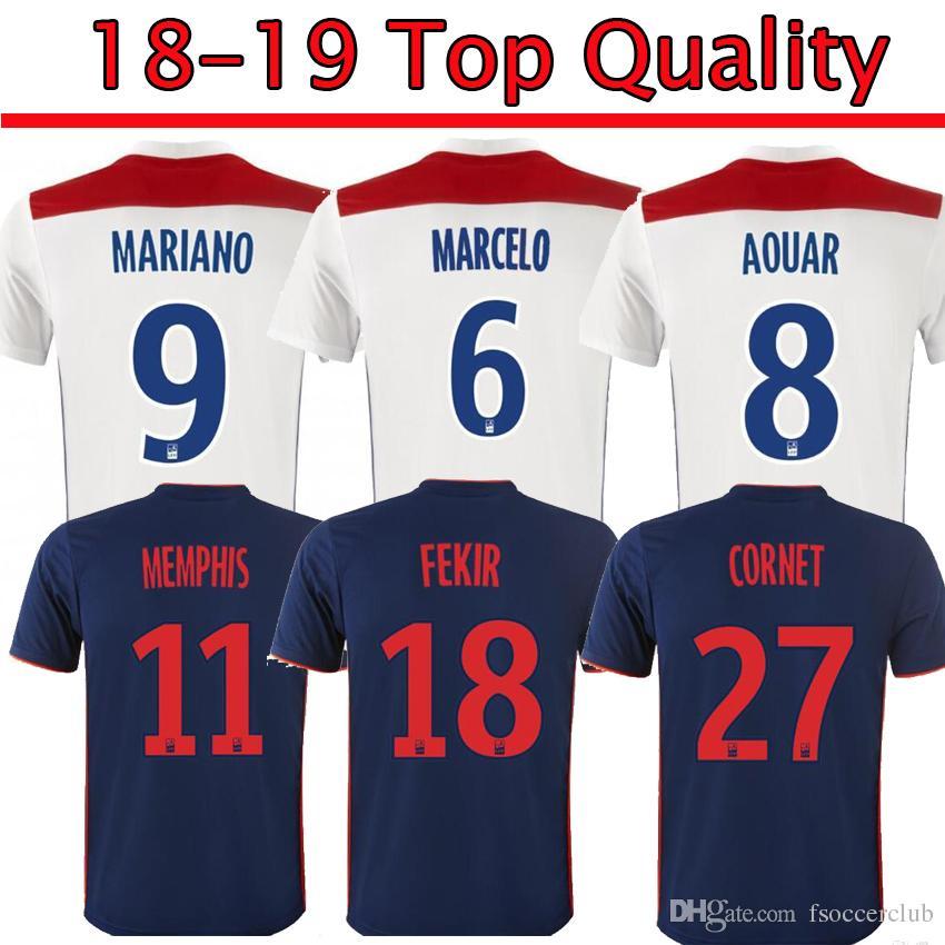 Maillot Extérieur Olympique Lyonnais Memphis DEPAY