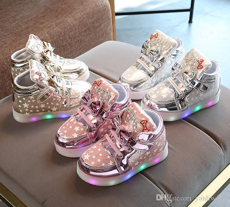 6ce707307092 European Breathable Cute Hot Sales Kids Baby Shoes Soft Running LED  Colorful Lighting Girls Boys Shoes Cute Children Shoes Children S Shoes  Boys Shoes From ...