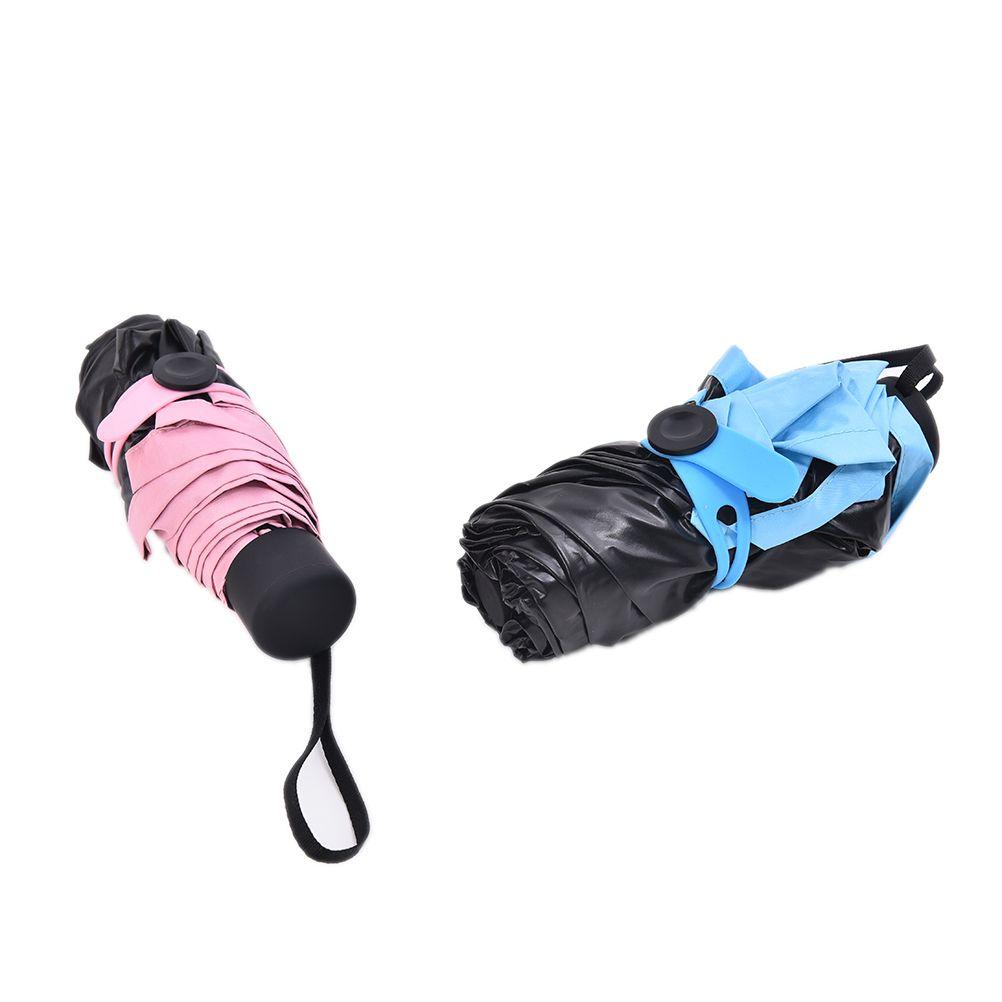 4a60e8cf335f New 1Pcs Mini Pocket Umbrella Women Sunny and Rainy Fashion Folding  Umbrellas small sun Parasol Umbrella rain Gifts 5 Colors