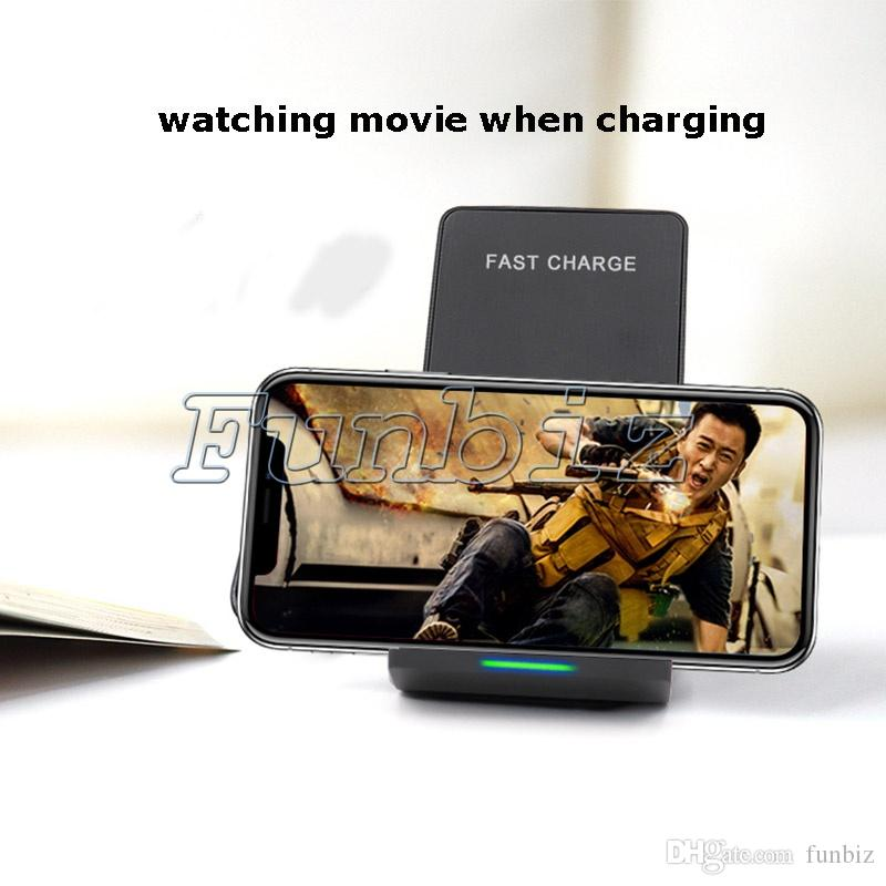 New Arrival Fast Charge N700 Wireless Charger Charging Stand Dock for Samsung Galaxy S8 / S8 Plus S7 iPhone X 8 Cell Phone Accessories