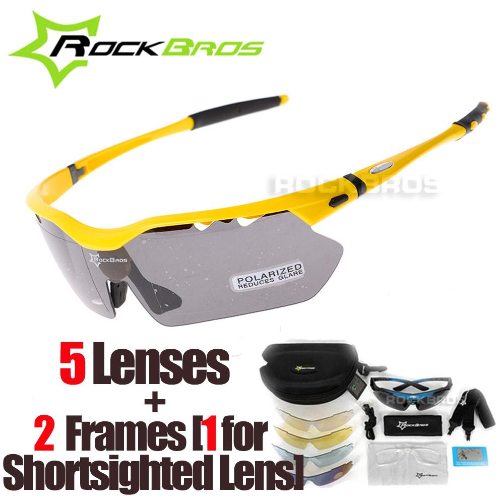 121719f4ac2 2019 RockBros Polarized 5 Lenses Cycling Glasses With Myopia Frame Bike  Eyewear Bicycle Glasses Sunglasses For Riding Sport Men Women From  Sportblue