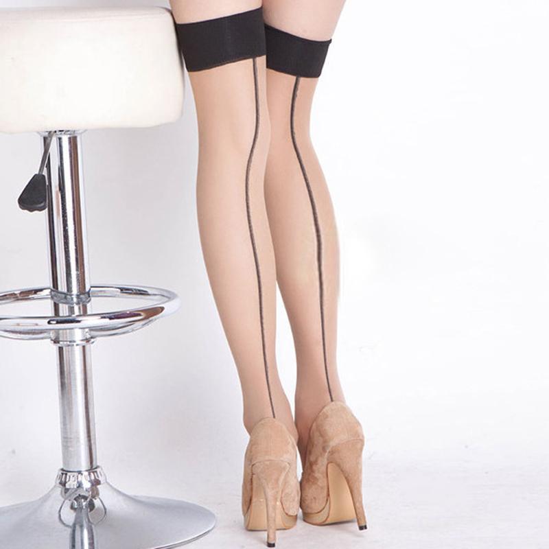 Kadınlar Bayanlar Seksi Çorap En Sheer Stay Up Uyluk Yüksek Çorap Külotlu Çorap Sıcak Satış Diz Üzerinde Çorap