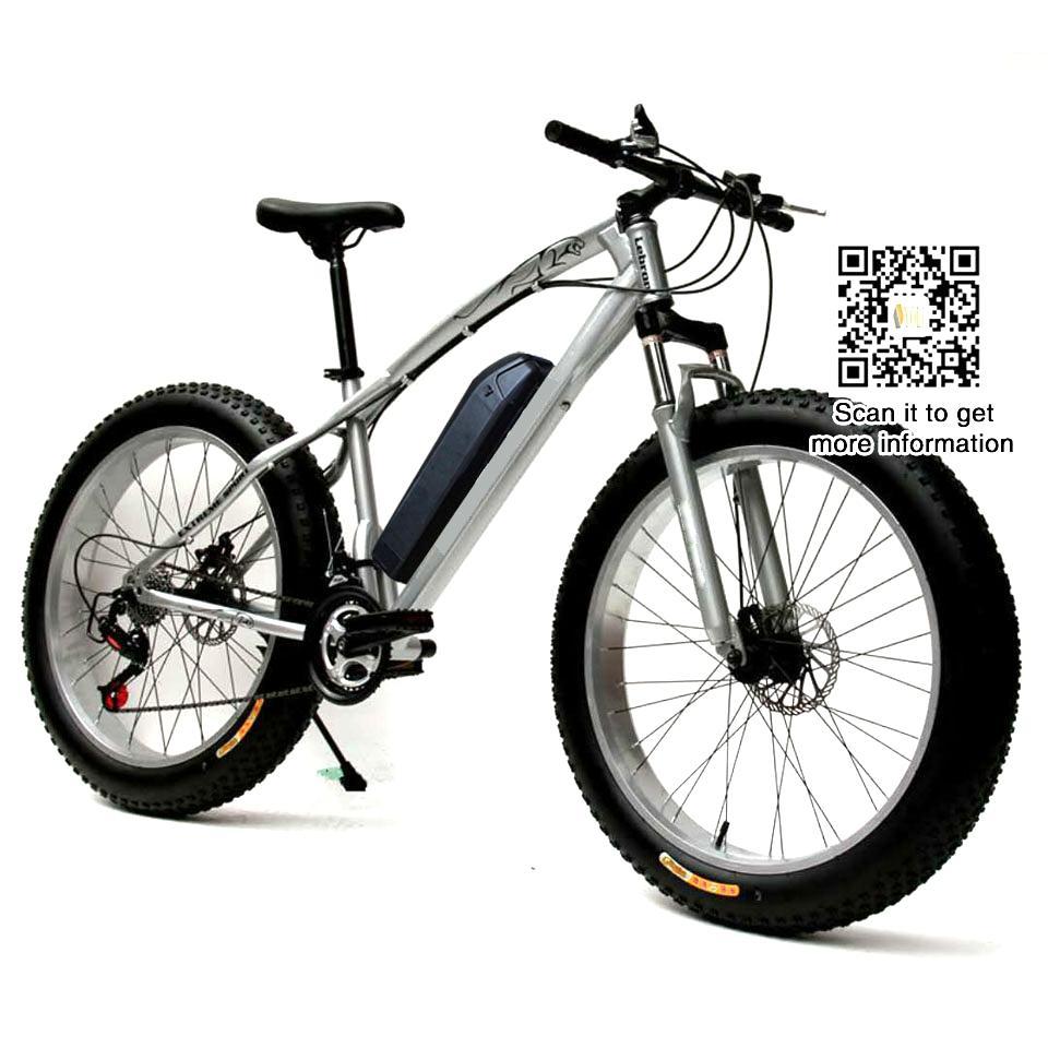 Gomma Ad Alta Velocità 21 Velocità Ebike Road Electric Bicycle 36v 104ah Bici Da Neve