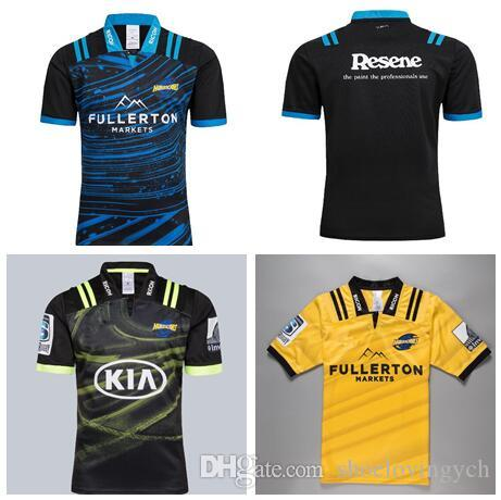 fab9b028c 2019 2018 2019 Hurricanes Super Rugby Home Away Training Jersey NRL  National Rugby League Nrl Jersey Shirt New Zealand Hurricane Shirts S 3XL  From ...