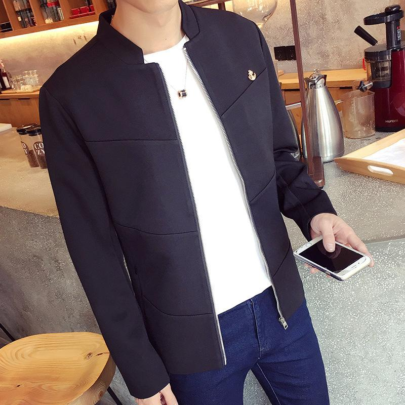 2ae95a82bc 2019 Wholesale Male Long Coat Men Sweater Coats Trench With Belt  Windbreaker For Boy Wool Lining Jacket Man Raincoat Black Mens Winter 851  From Rebecco