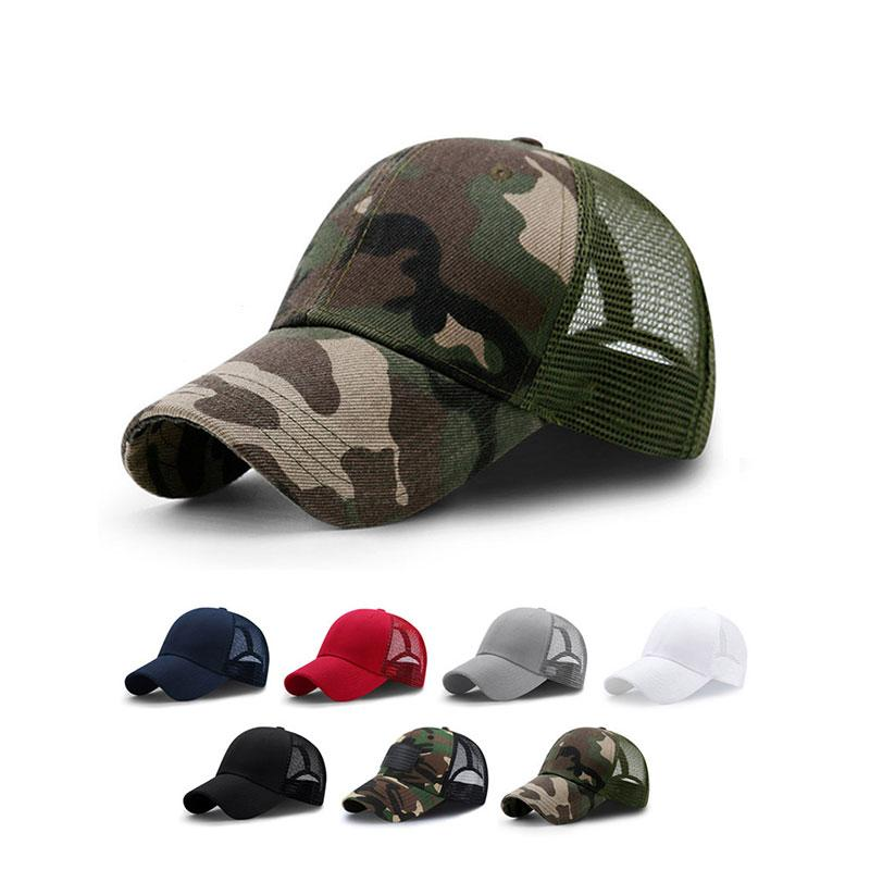 2a1359f0d15 MNKNCL 2018 New Summer Sport Mesh Baseball Caps Men Or Women Outdoor  Snapback Bone Breathable Hats Trucker Hat 59fifty From Delove520