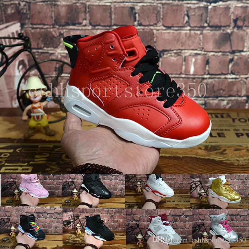 77755b301d0 ... switzerland acheter nike air jordan 6 aj6 retro 2018 enfants 6  chaussures de basket ball pour
