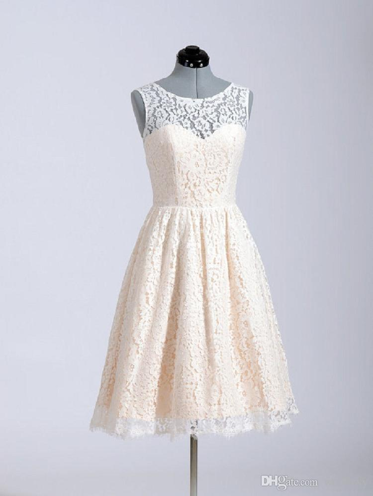 2019 High-Quality New Shoulder Lace Small Dress Dance Performance Dresses Skirt Bridesmaid Dresses HY1803