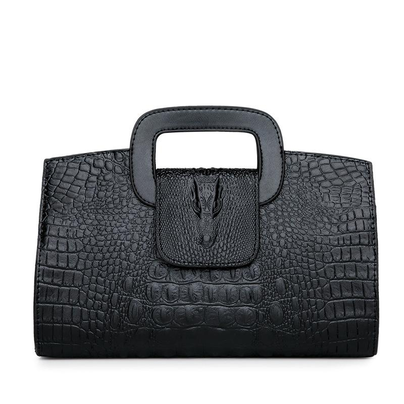 Luxury Brand Women Messenger Handbag Alligator Crocodile Pattern Ladies  Classic Leather Crossbody Clutch Tote Shoulder Bags Sac Leather Handbags  Hand Bags ... a619df5c92731