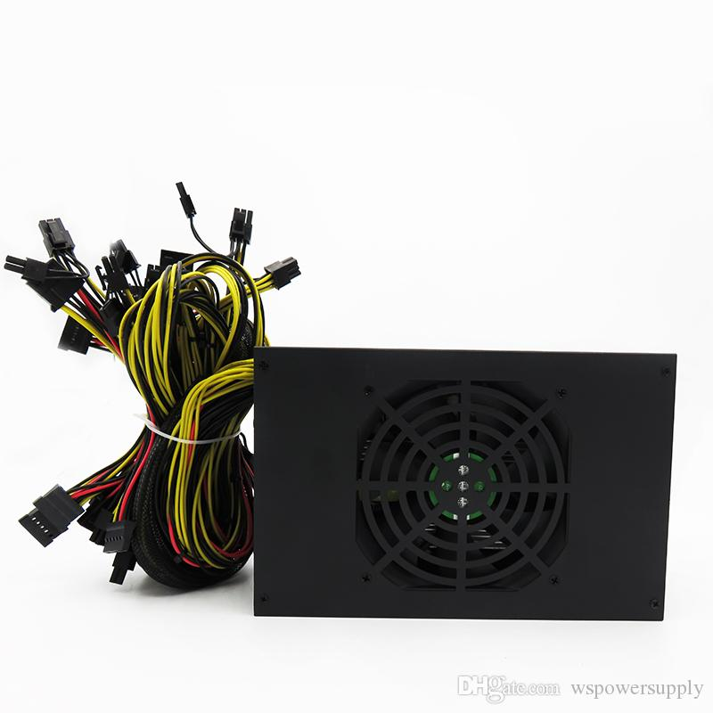 Btc Miner Eth Etc Miner Gold Power Total 1800w Eth Miner Power Supply For  R9 380 Rx 470 Rx480 8 Gpu Cards.High Power Conversion Computer Power Supply  Fan ...