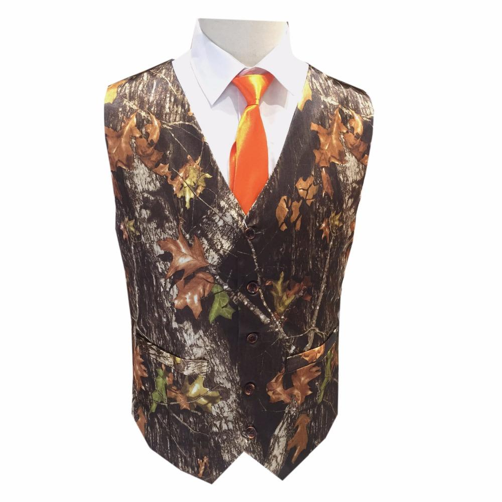 bfac68d794c97 2019 Mossy Oak Camouflage Man Vests With Tie For Prom Men Camo Formal Vest  From Cailey, $85.39 | DHgate.Com