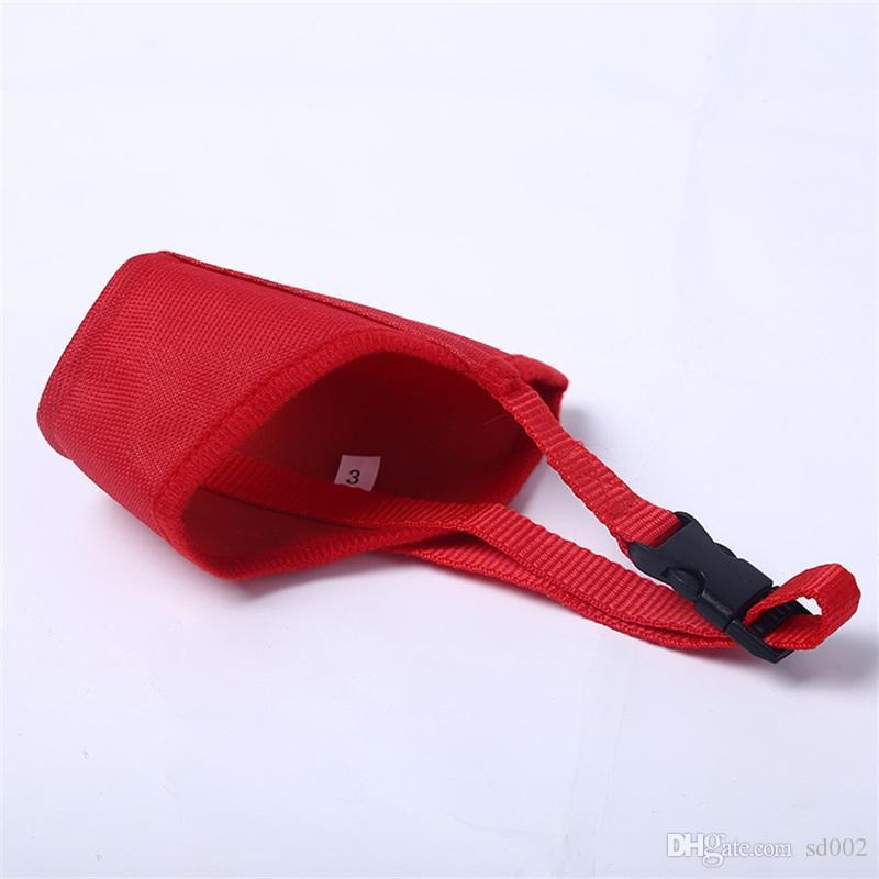 Pet Nylon Mask Ventilation Small Medium Large Dog Comfortable Bite Proof Respirator Convenient 7 Optional 2 3br X