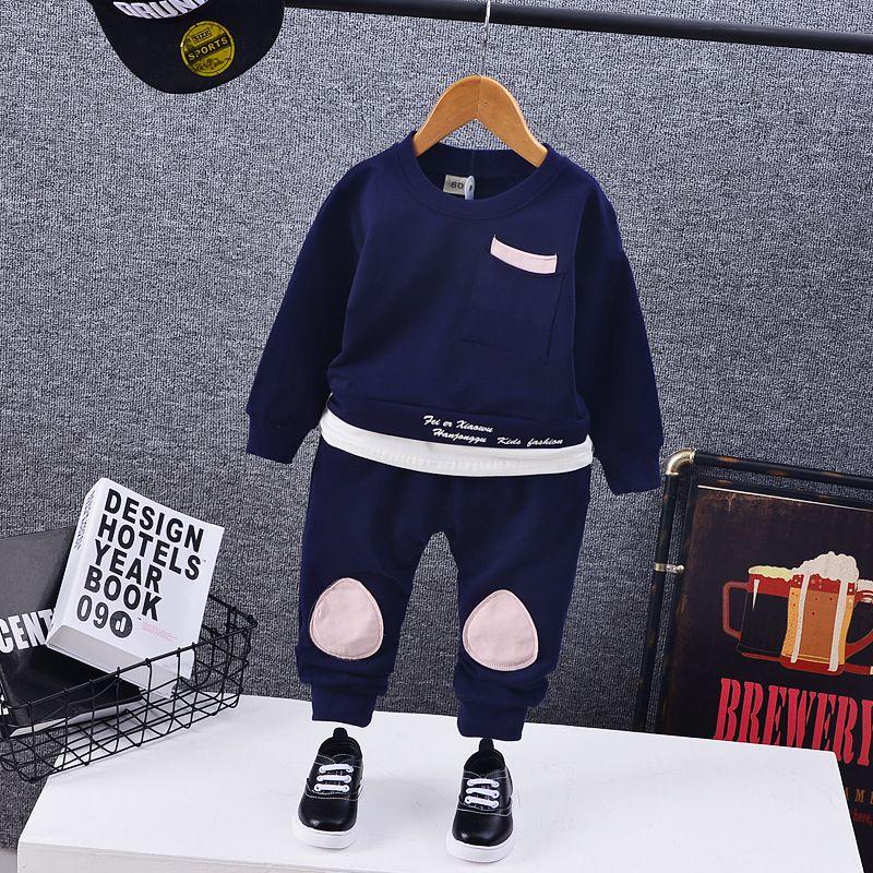 90039b8f008e 2019 1 5Yrs Children Boy Girls Clothing Set Kids Sports Clothes Kids ...