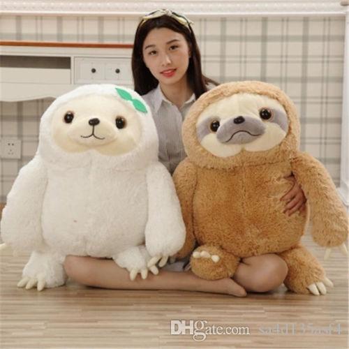 2019 40cm Cute Animal Giant Sloth Stuffed Plush Doll Soft Toys