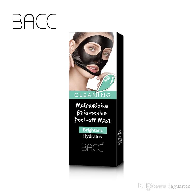 Face Care Black Mud Cleansing Suction Mask Peel Off Facial Skin Mask Nose Blackhead Remover Acne Treatment BACC