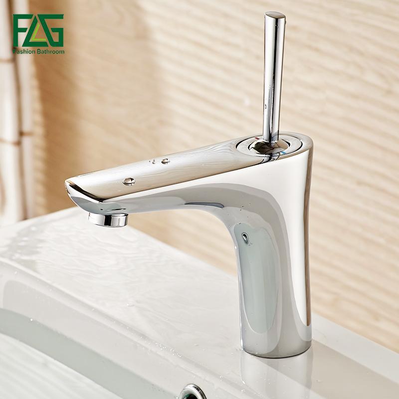 2018 Flg Water Mixer Bathroom Basin Sink Faucet Brass Bathroom Mixer ...