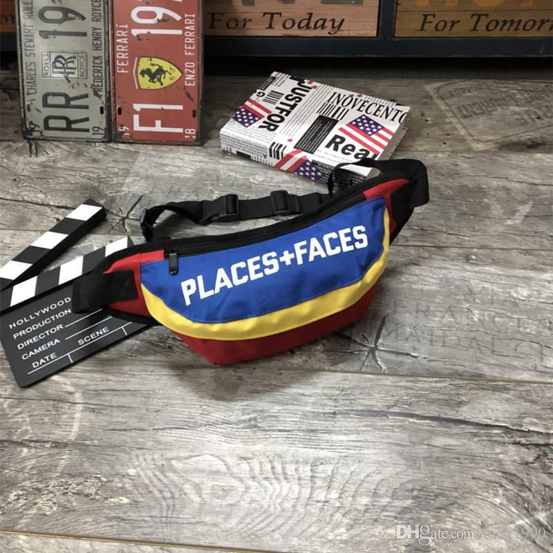 Brand New PLACES + FACES Vida Skates Saco Sport Packs CintosBonito Casual Dos Homens Ao Ar Livre Pacotes de Mini Telefone Móvel Embala Saco De Armazenamento