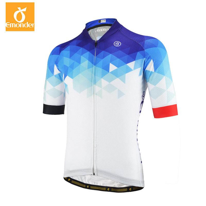 2f749ba12 EMONDER Men Cycling Jersey Short Sleeved Quick Dry T Shirt Breathable Pro  Team Clothing T Shirts For Women Short Sleeve Shirts From Hengyicentral