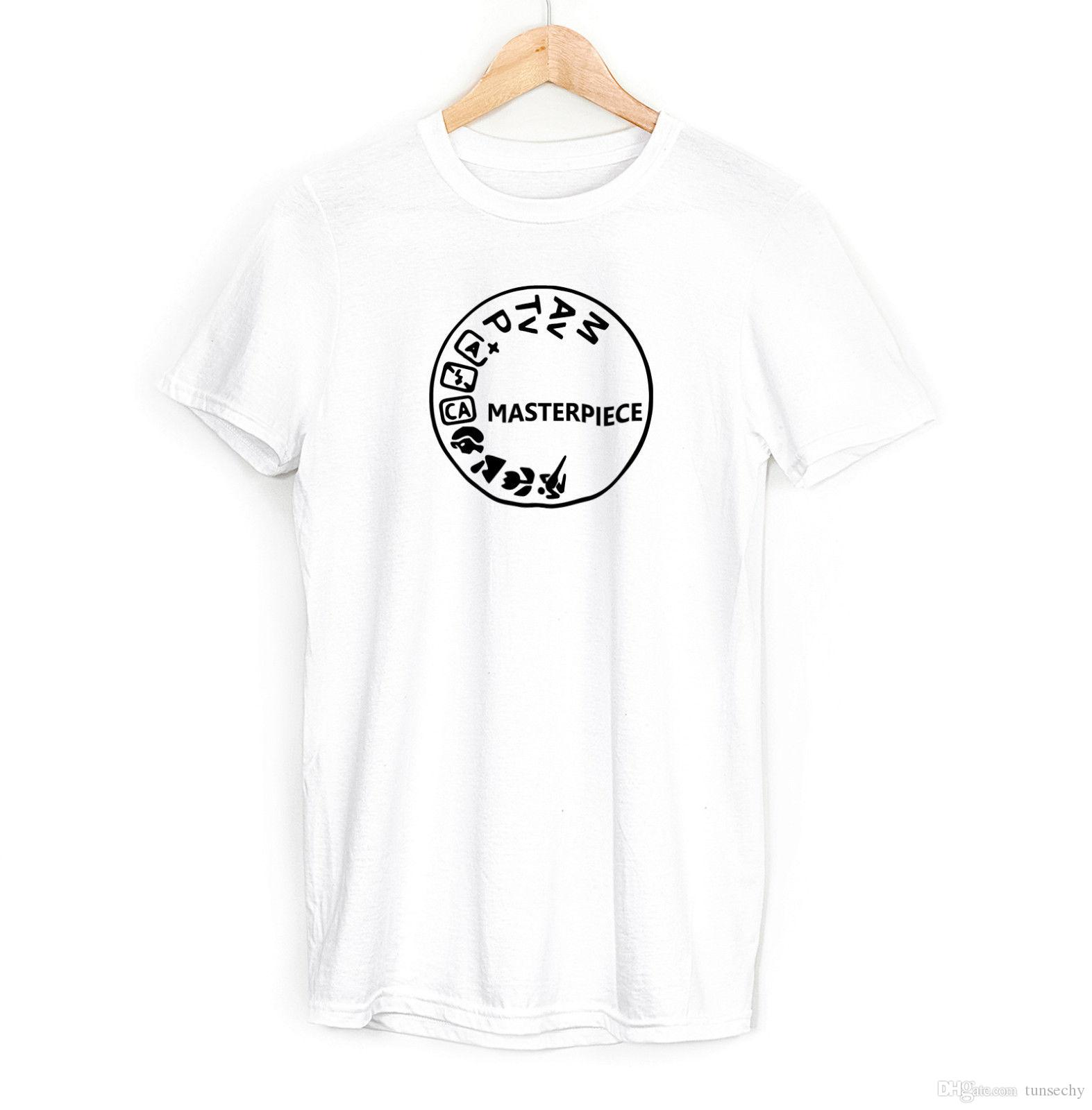 e387b7d45f PHOTOGRAPHY ART Mens Boys T SHIRT Camera Snap Top Tee Photographer Gift  Shirts T Funky T Shirts For Women From Tunsechy, $11.16| DHgate.Com