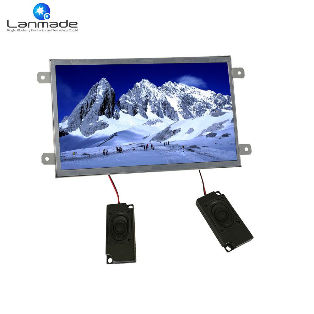 10 Inch Open Frame Taxi Lcd Tv HD Advertising Display Screen Mp4 ...