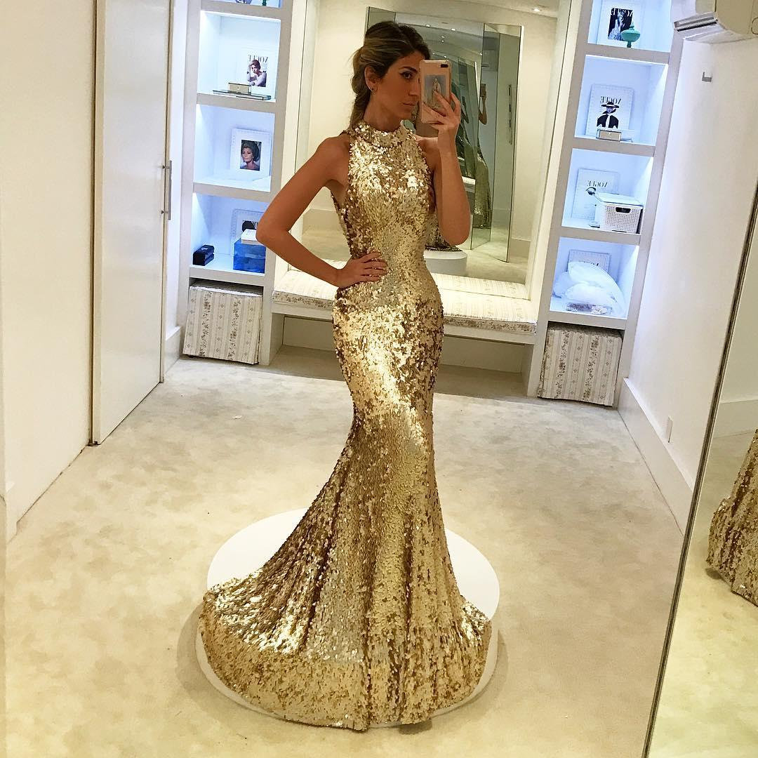 Constello > Kalisha Expensive-elegant-2018-gold-prom-dresses