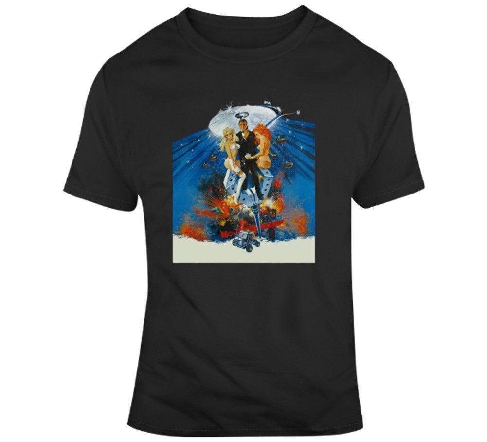 T shirts pour homme T shirt Diamonds Are Forever James Bond