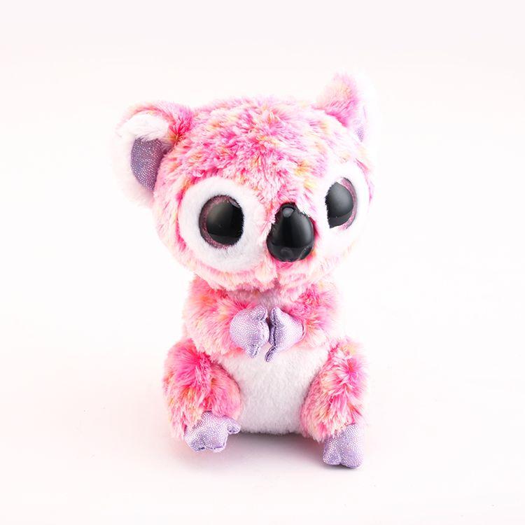 06c3350ec9f 2019 Stuffed  Amp  Plush Animals Ty Beanie Boos Big Eyes Elephant Monkey  Rabbit Fox Owl Unicorn Cat Ladybug Cute Animal Plush Toys Doll From  Toy 888