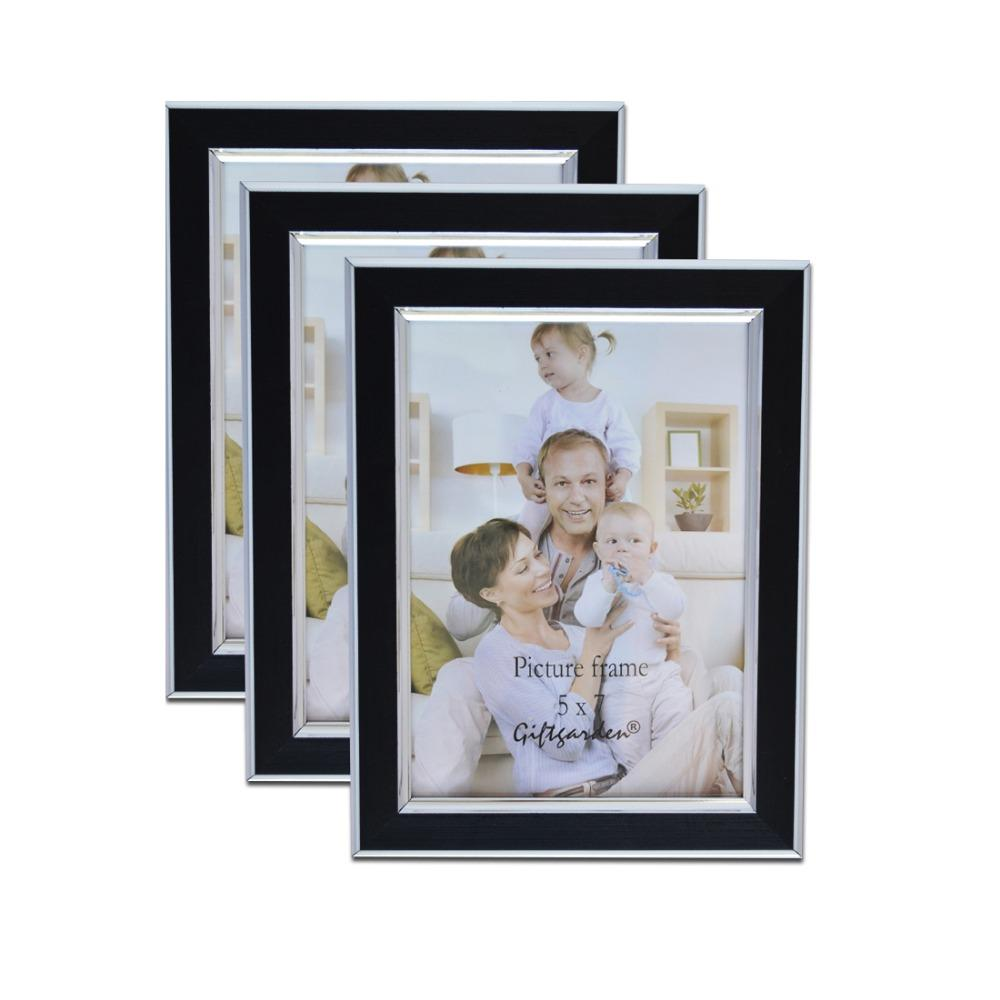 Giftgarden Wall Photo Frame Hanging 5x7 Black Picture Frame ...