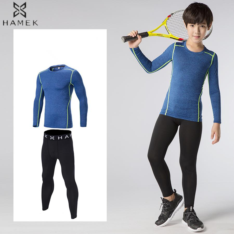 3e3dbb50db 2019 Compression Base Layer Kids Running Sets Boys Girls Sports Suits Tights  Joggers Football Soccer Training Gym Fitness Tracksuits From Stem, ...