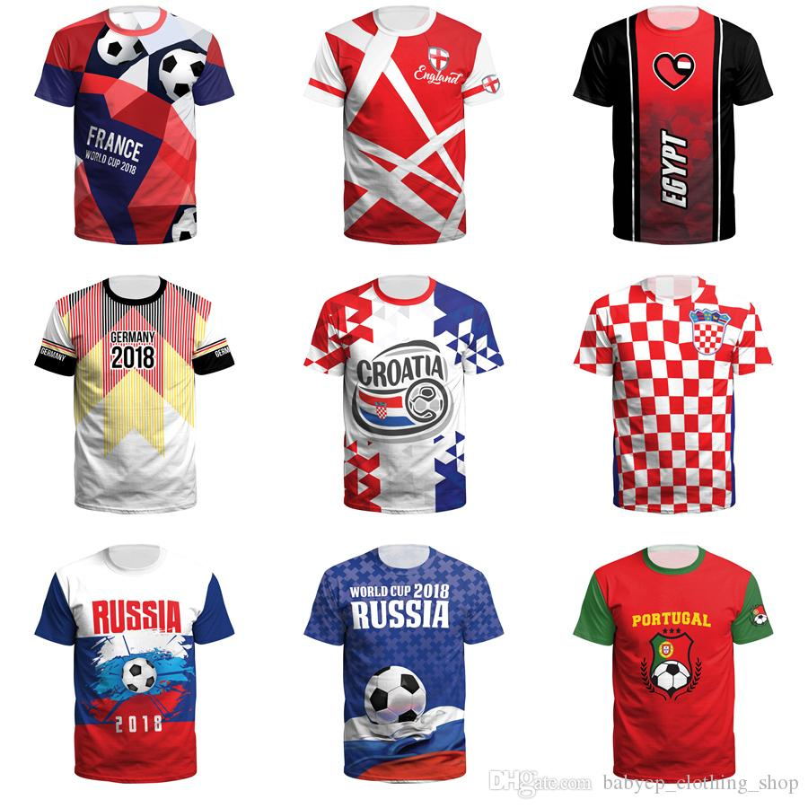 World Cup T Shirt 3d Print Soccer Football Tee Shirts Adult Plus