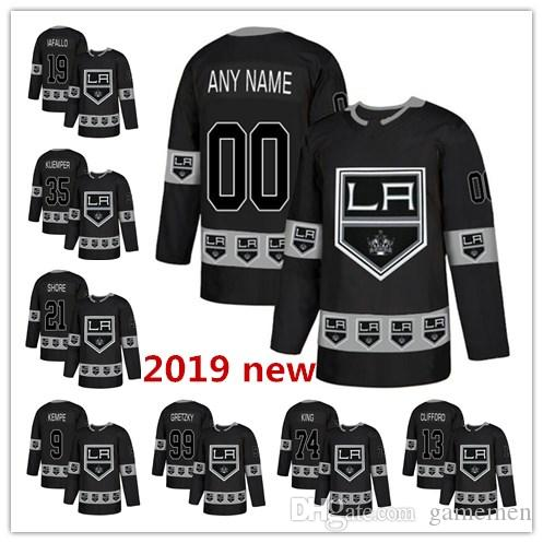 2019 Custom 2019 New Los Angeles Kings 9 Adrian Kempe 27 Alec Martinez 77  Jeff Carter Drew Doughty Mens Women Youth Hockey Stitched Jersey From  Gamemen d5d556785