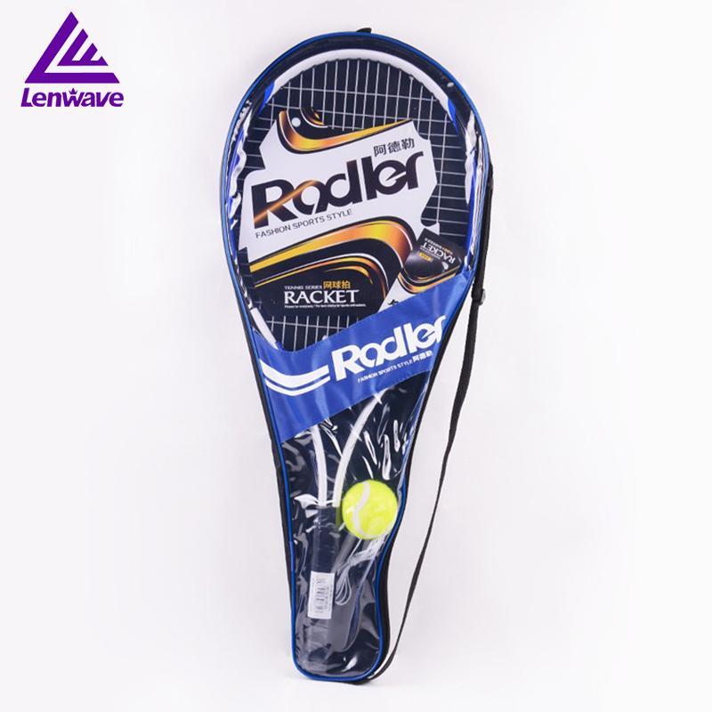 d7a964277a 2019 Tennis Racket Raquete De Tennis 2017 Aluminum Alloy Racket Head  Material With Rackets Bag Send One Beginner Ball From Capsicum