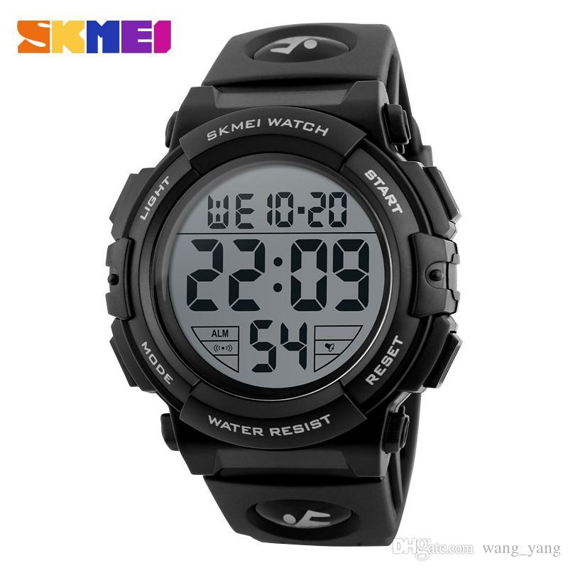 73d864816 Compre Nueva Marca De Moda Hombres Relojes Deportivos Hombres Reloj LED  Digital A Prueba De Agua Hombre Reloj Militar Relogio Masculino Relojes De  Pulsera ...