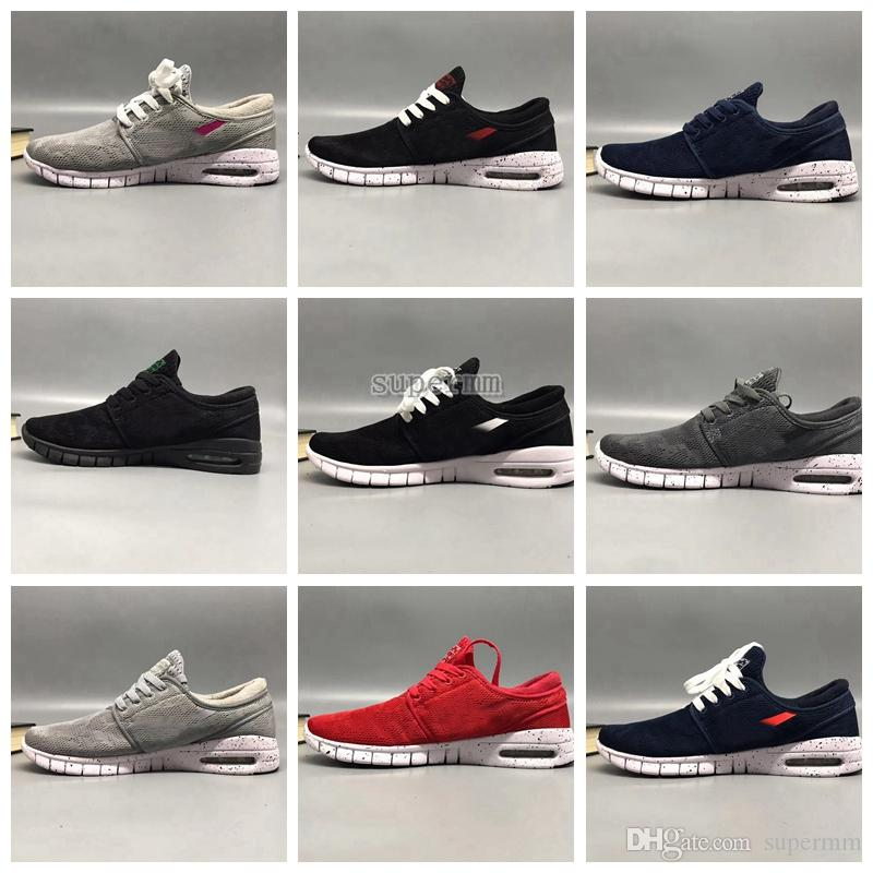 817779d32021 Cheap Sale SB Stefan Janoski Shoes Running Shoes for Women Mens High  Quality Authentic Maxes Trainers Sneakers Zapatos Deportivos Size36-45 Stefan  Janoski ...