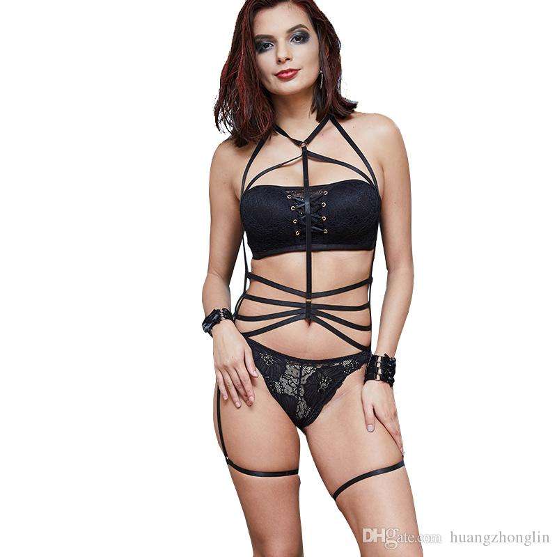 Womens Sexy Cage Body Harness Blusas Cosecha Jpg