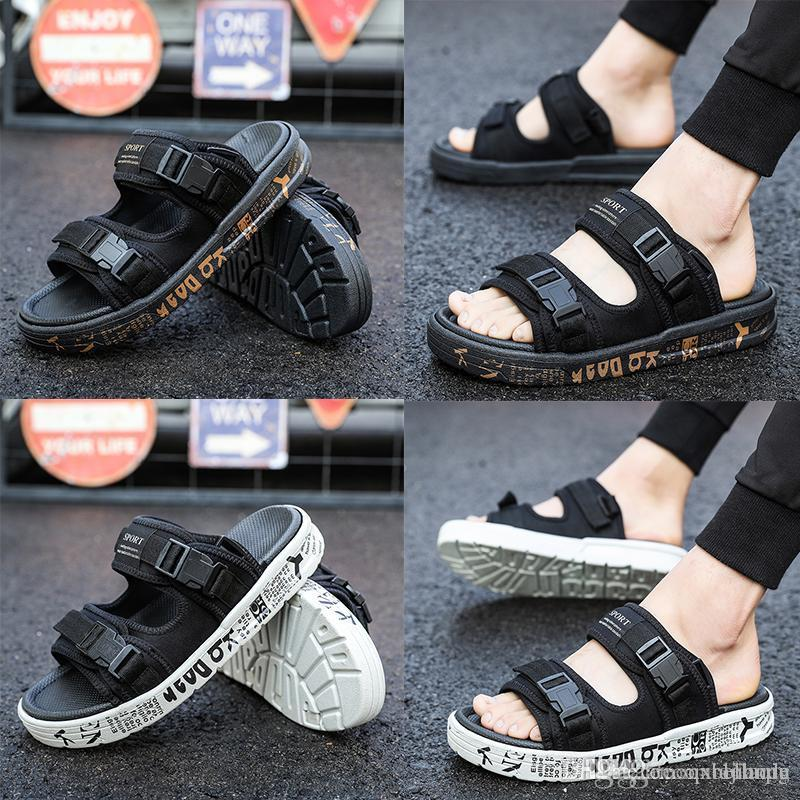 1cdacca2e3d4 Brand Designer Slippers Flip Flops Slippers Mastermind JAPAN X SUICOKE  KISEEOK 044V Suicoke Depa Sandals Sole Slides Sandals High Heels From  Qxiaohong