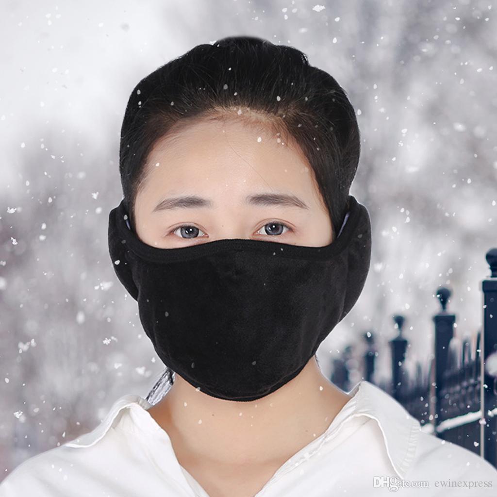 Al Invierno Compre Y Protección Mascarilla Aire Auditiva Cálido Conducción Facial Polvo Viento Libre Cuidado Contra