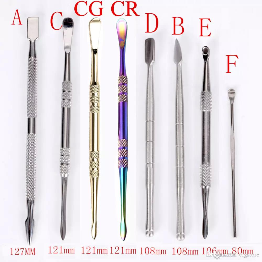 Wax Dabbers usa wax atomizer shovel tools stainless steel dabber tool wax tool dry herb tool the lowest price dab tools vax atomizer