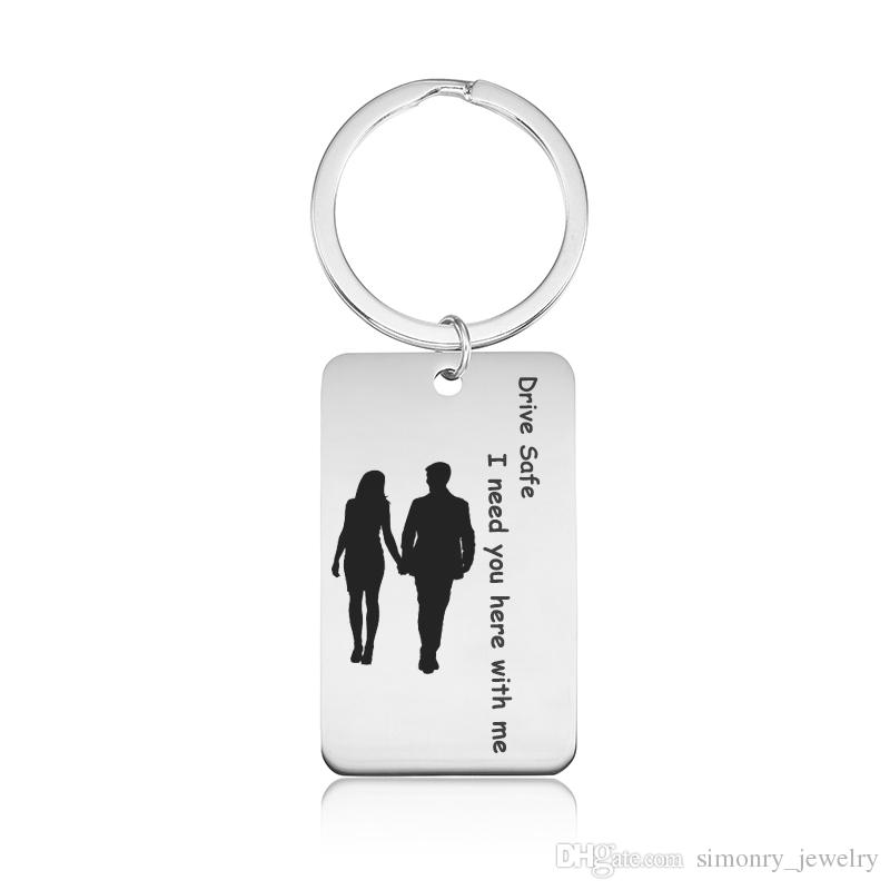 Keychain Quotes Quotes Keychains Stainless Steel Inspirations Saying Engraving  Keychain Quotes