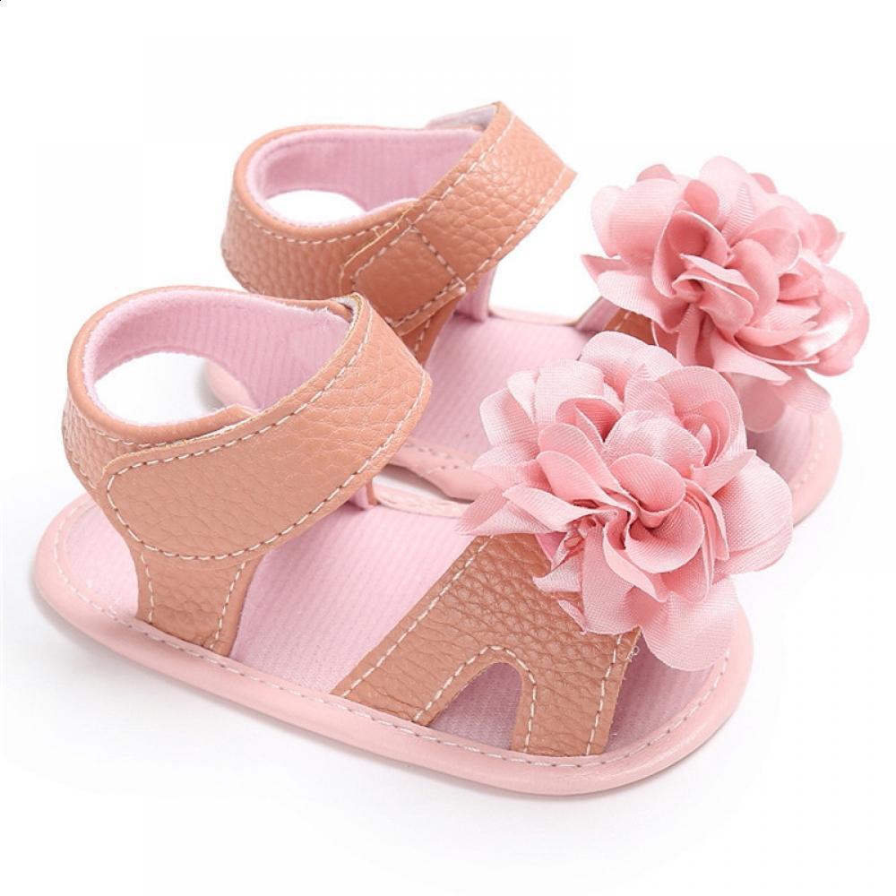 c2b5cdac83da6 Acheter ROMIRUS Enfants Pour Nouveau Nés Sandales Sandales Floral Girl  Accessoires Sole Tous Été Et Vêtements Chaussures Chaussures Souples De   38.66 Du ...