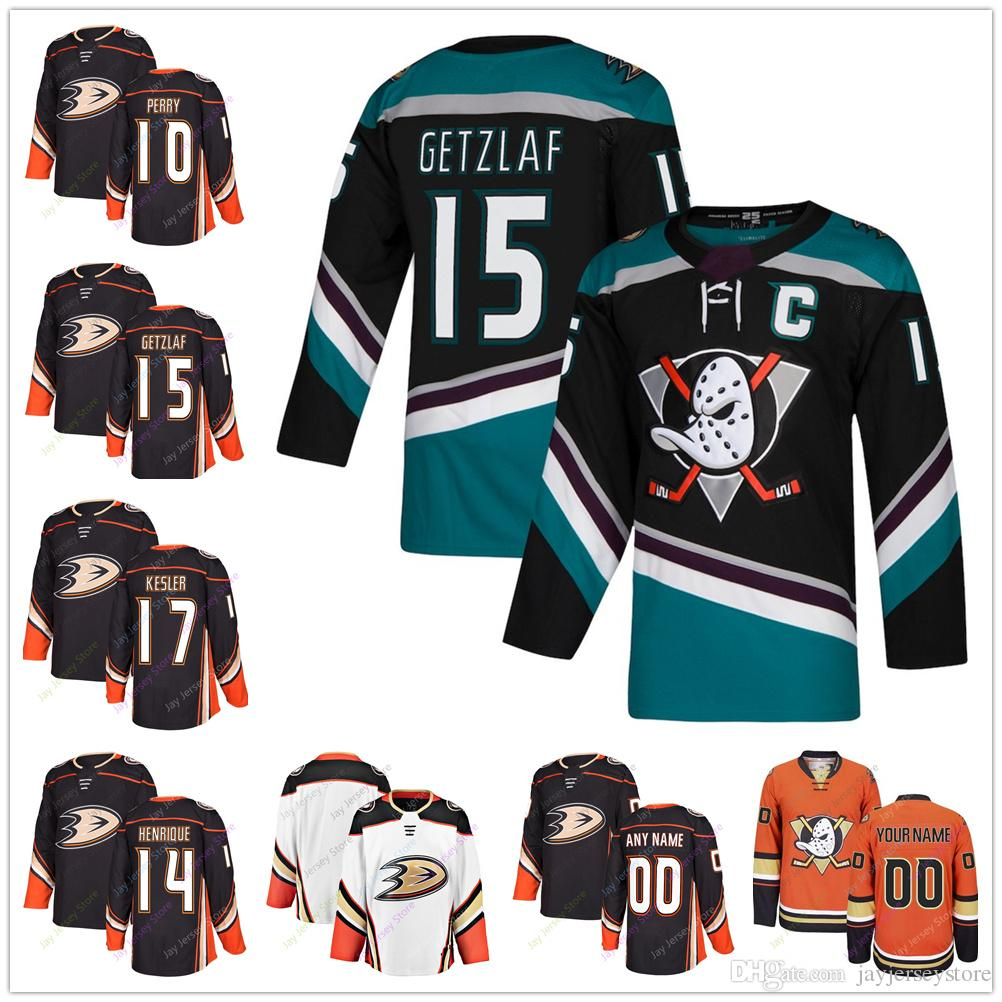 online retailer df354 87678 2018 2019 New Men Women Youth Ice Hockey Anaheim Ducks Third Jersey 10  Corey Perry 14 Adam Henrique 15 Ryan Getzlaf 17 Ryan Kesler