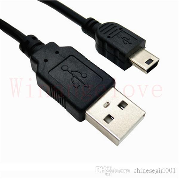 V3 Mini Cable Usb Sync Cable de Carga de Datos Usb para Unidades de Disco Duro de Cámara Digital Mp3 Mp4 Dv Teléfono Móvil