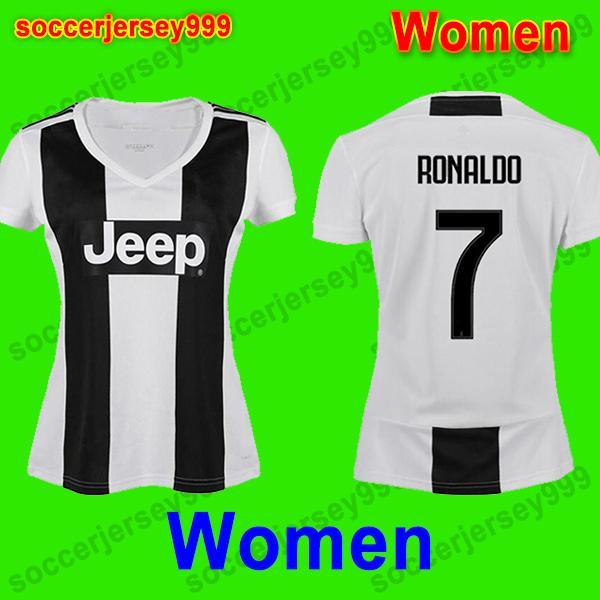 c9b0332afac 2019 Ronaldo 18 19 Juventus Women Soccer Jersey Football Shirt Girls  Federico Bernardeschi 2018 2019 DYBALA PJANIC MATUIDI Costa Mandzukic From  ...