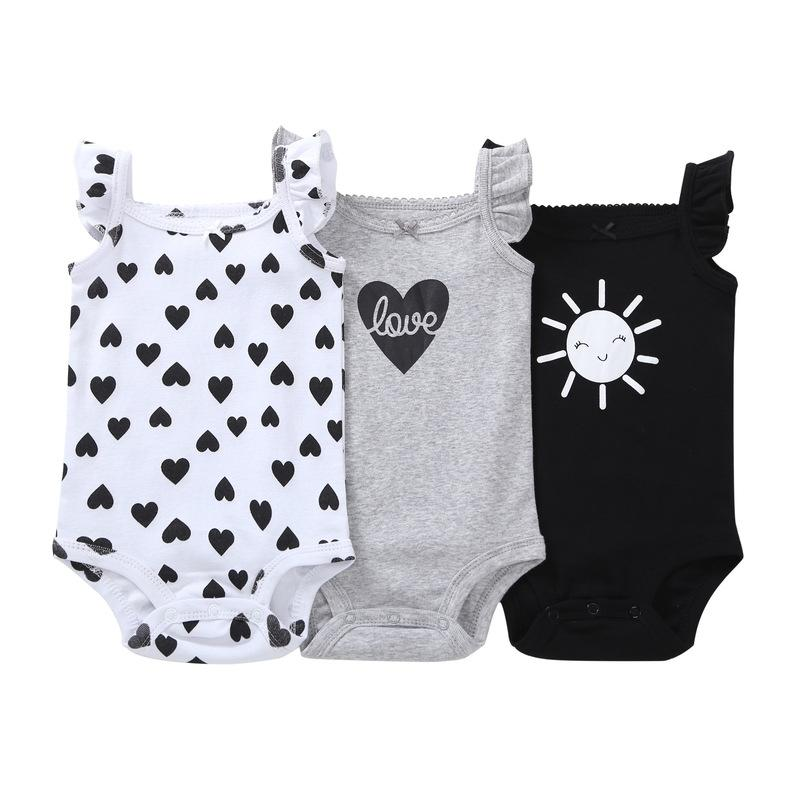 1ae44c47b 2019 Baby Girls Bodysuit Newborn Infant Baby Girl Clothes 2018 ...