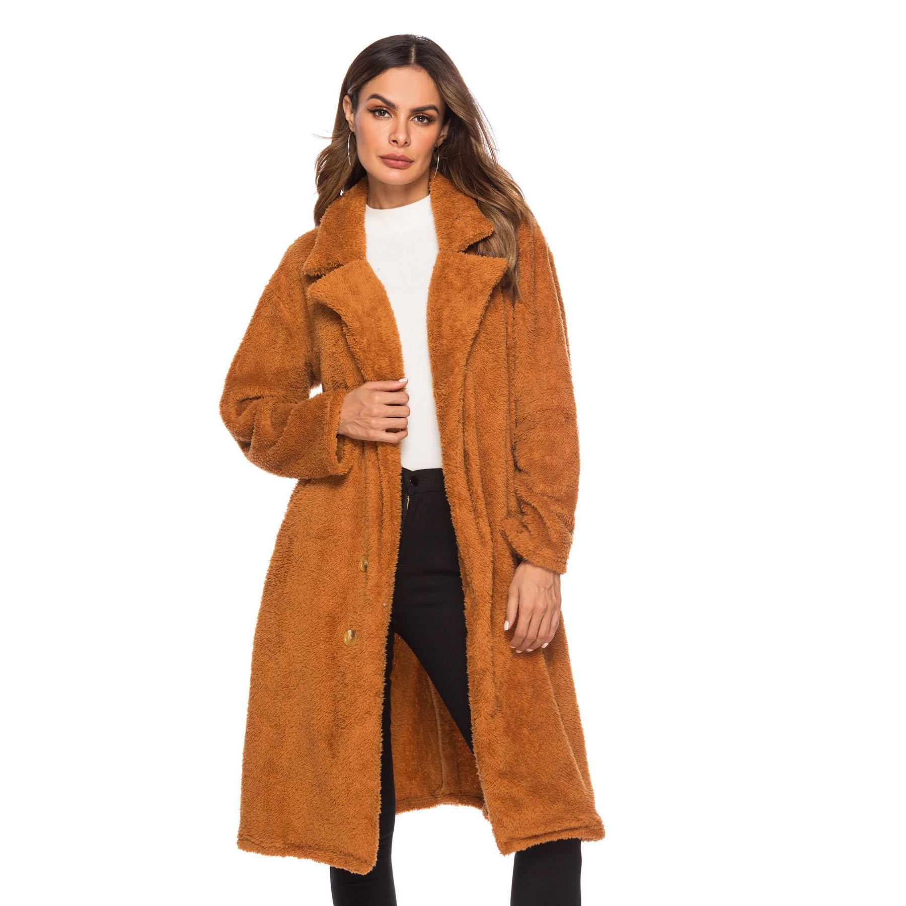 c1fa085da Brand New Fashion Women's Outerwear Casual Coat Thick Winter Wool ...