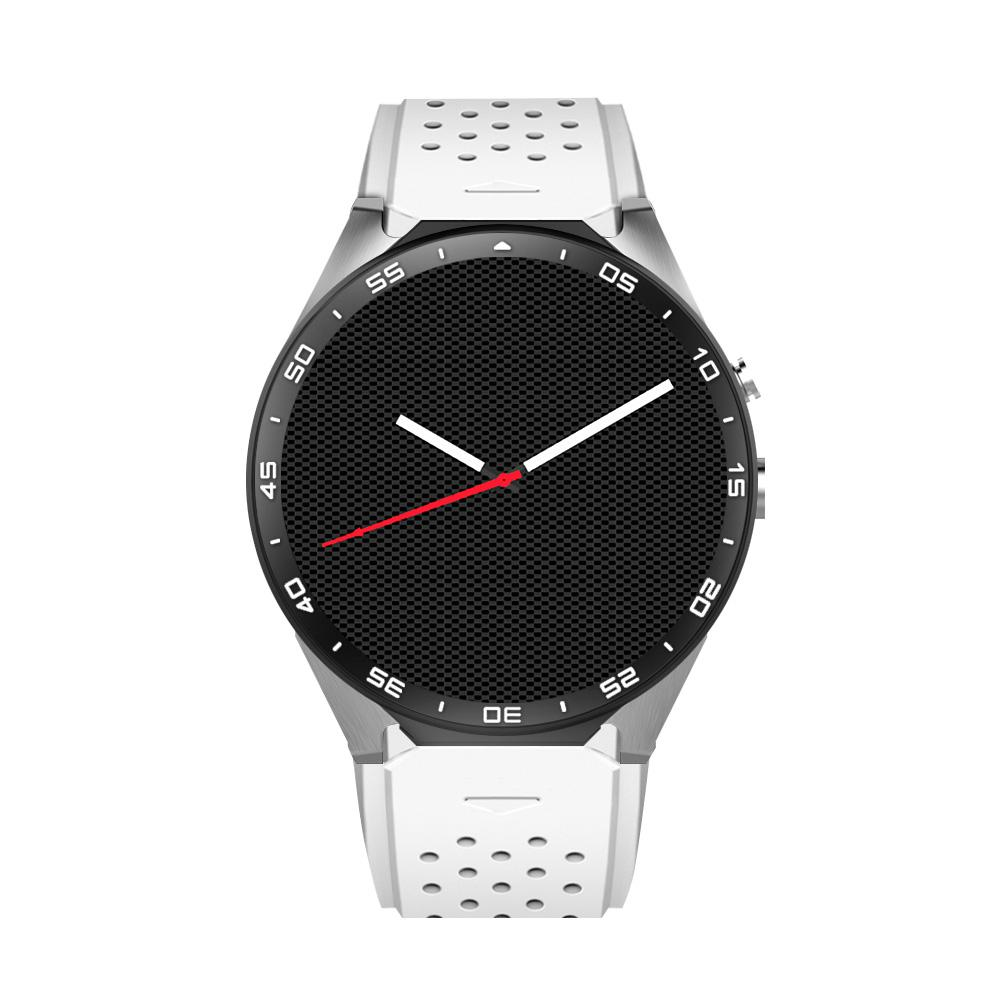 KW88 3G WIFI Smartwatch Cell Phone Bluetooth Smart Watch Phone Android 5.1 SIM Card Camera Heart Rate Monitor GPS Watch