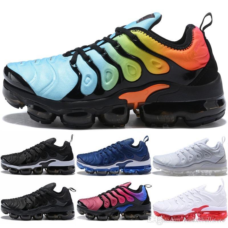 Scarpa Running Nike Air Vapormax TN Plus Hyper Violet Pure Platinum Volt  Grappa Rimonta Triple Bianco Nero Uomo Donna Scarpe Da Corsa Sneaker  Sneaker ... 48a46d0f513